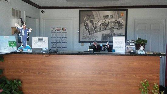 Dumas, تكساس: Front Desk
