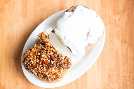 Bayport, MN: Cinnamon Rolls and Caramel Rolls