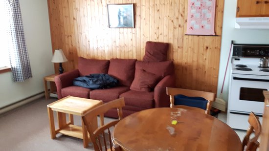 Margaree Harbour, Canadá: Living area