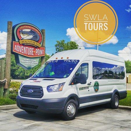 Lake Charles, LA: SWLA Tours Inc. tour van