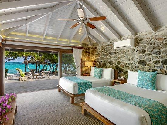 Petit St.Vincent: 2nd Bedroom of Beach Villa