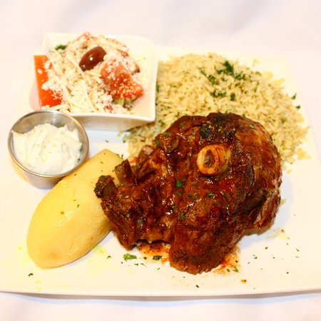 Ladner, Canada: Variety of Greek Dishes