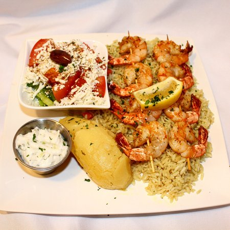 Ladner, Canadá: Variety of Greek Dishes