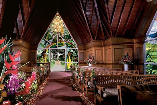 Ho'olei at Grand Wailea: Seaside Chapel
