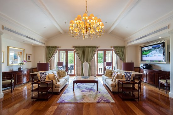 Sandy Lane Hotel: Penthouse Living Room