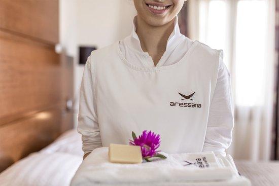 Aressana Spa Hotel and Suites: Greek Hospitality