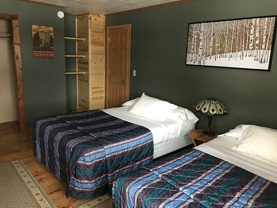 Crane Lake, Μινεσότα: Bedroom 1