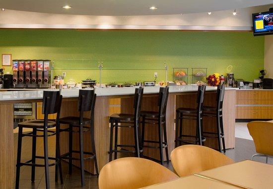 Brentwood, Μιζούρι: Breakfast Dining Area