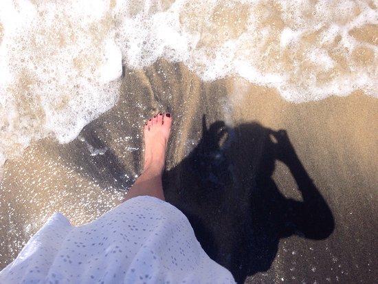 Laguna Mar: En la playa del hotel .. Caribe
