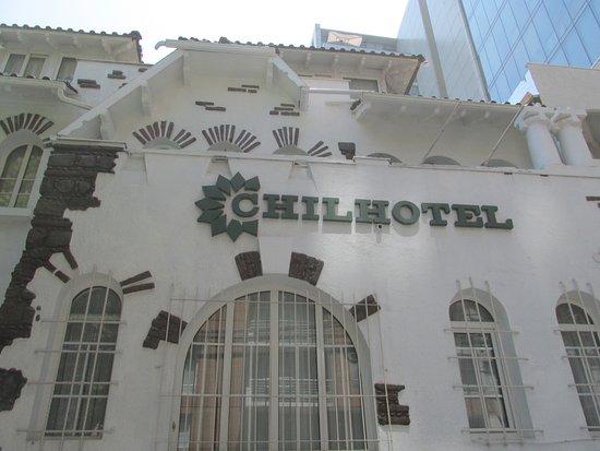 Chilhotel : Frente del hotel