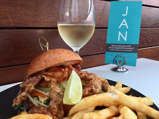 East Maitland, أستراليا: Crab Burger