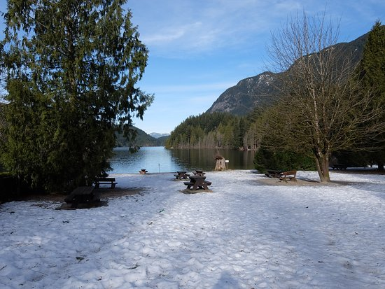 Port Moody, Canada : The main picnic area