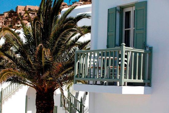 Tourlos, اليونان: Balcony
