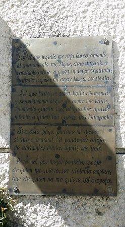 Tepetlixpa, Mexico: Pequeño fragmento de alguno de sus bellos sonetos