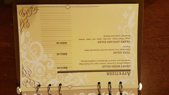 24hrs room service menu - Picture of Grand Riverview Hotel, Kota