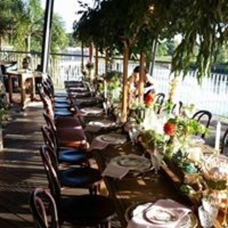 The Lagoons Cafe and Gallery: Wedding Setup