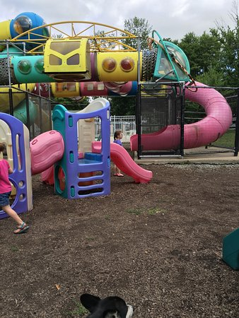 New Castle, IN: Large playground.