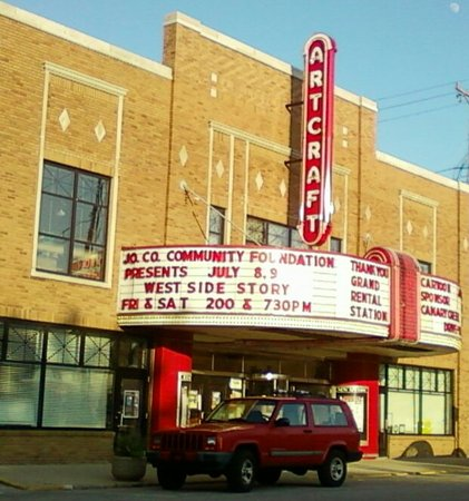 Franklin, IN: Historic Artcraft Theatre