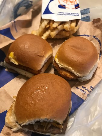 Bridgeview, IL: Burger, Fish & Chicken sliders.