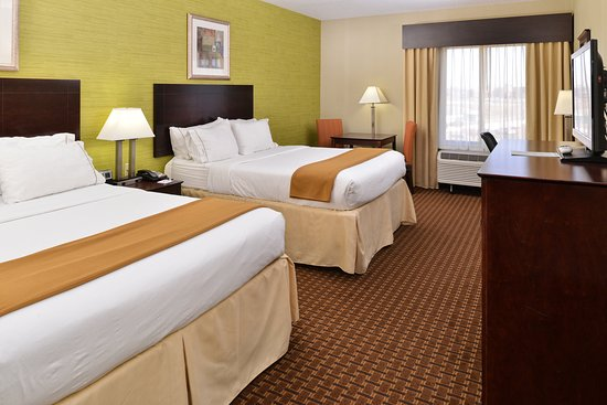 Holiday Inn Express Hotel & Suites Indianapolis W - Airport Area: Double Bed Guest Room