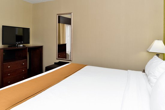 Holiday Inn Express Hotel & Suites Indianapolis W - Airport Area: Deluxe Room