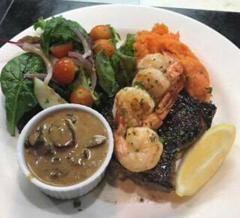 how to make garlic prawn sauce for steak