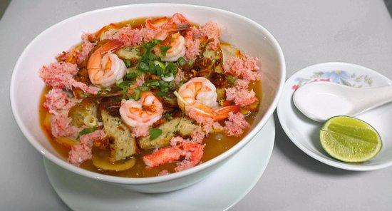 Carmichael, CA: #18A Vietnamese Crab & Shrimps Udon