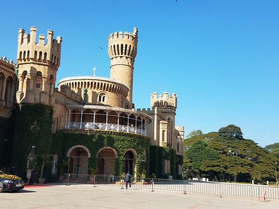 Bangalore Palace Windsor Castle Look Alike Picture Of