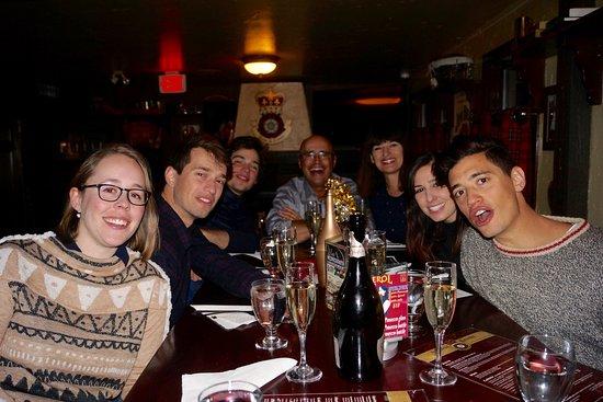 Rose & Crown Restaurant & Pub: NYE 2016/7