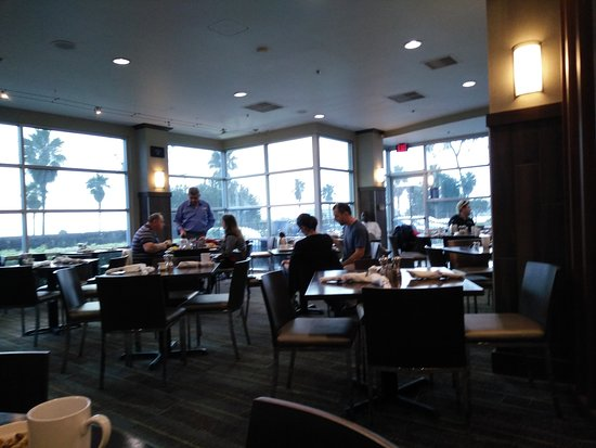 WhiteCaps Drinks + Eats: portion of the dining area