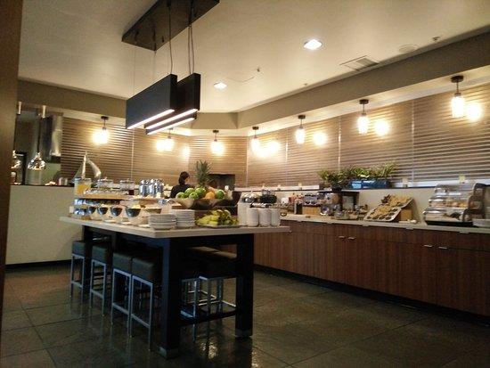 WhiteCaps Drinks + Eats: breakfast buffet selection