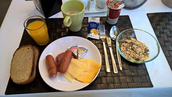 A-Austerlitz Hotel : breakfast
