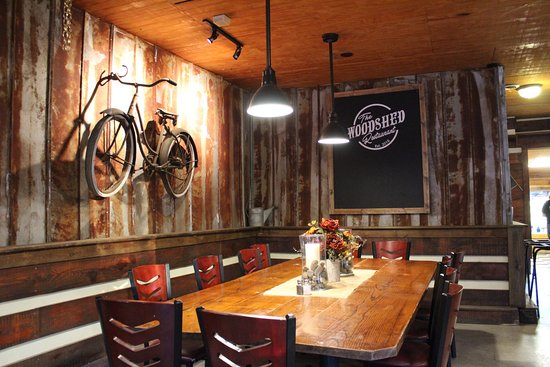 Newport, TN: The Woodshed Restaurant