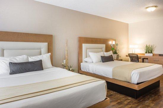 Hotel Universel Quebec: Economie 2 Beds