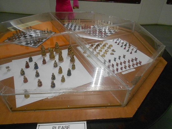 Chess Board And Coins Picture Of Salar Jung Museum Hyderabad