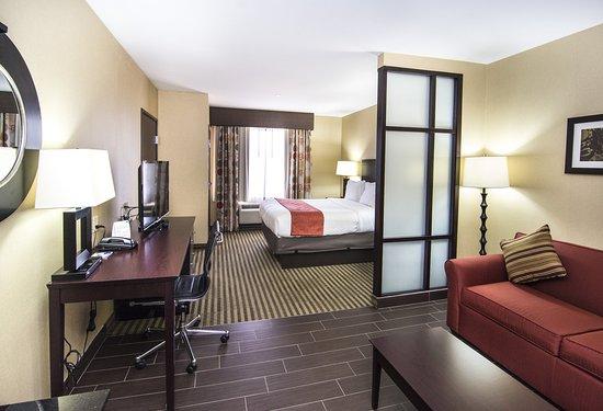 Elkton, Μέριλαντ: King Bed Guest Room