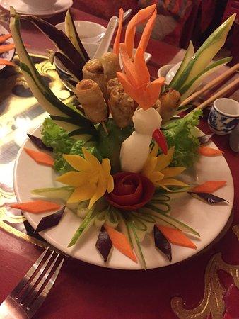 Mozaik Voyages Vietnam: Belle décoration des menus