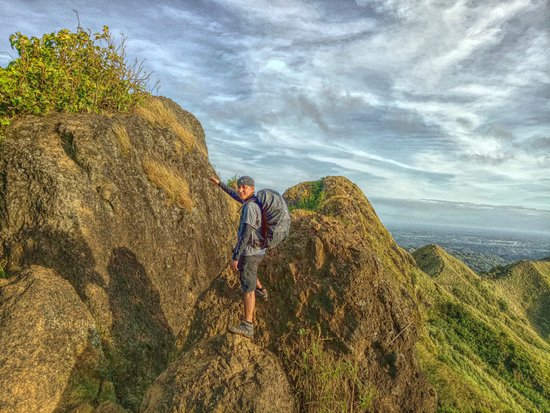 Nasugbu, Filipiny: The rock