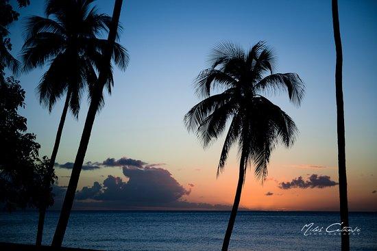 Anse La Raye, St. Lucia: Sunset - Saint Lucia