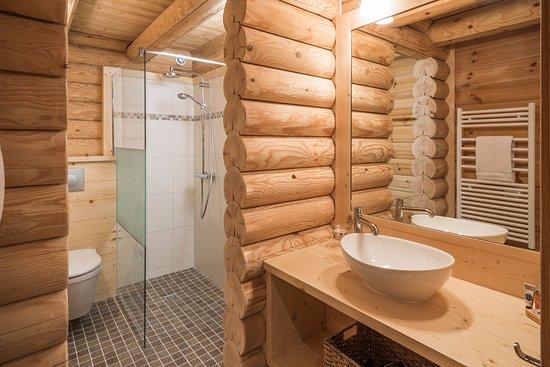 Alpine Escape : Ensuite bathroom Chalet Ecritoire