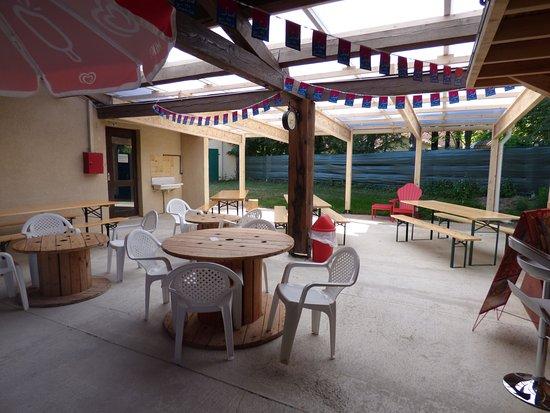Saissac, Prancis: Notre snack/bar