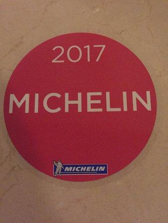 Un año más hemos sido recomendado en la guía michelin