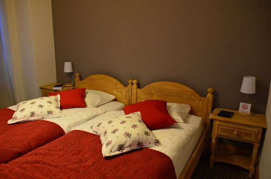 Chateau-d'Oex, Zwitserland: Petit chambre double cosy, certaines plus grandes