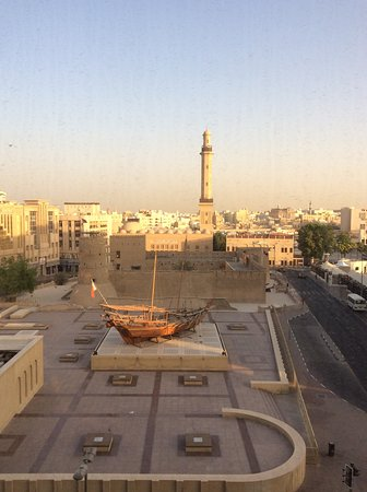 Arabian Courtyard Hotel & Spa: View from bedroom 411