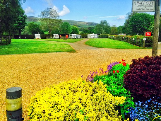Hope Valley, UK: Laneside Caravan Park, Hope