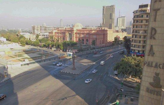 City View Hotel: ホテルのレストランのバルコニーからの眺めです