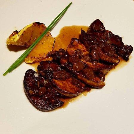 Hevia : Foie Fresco con salsa Px