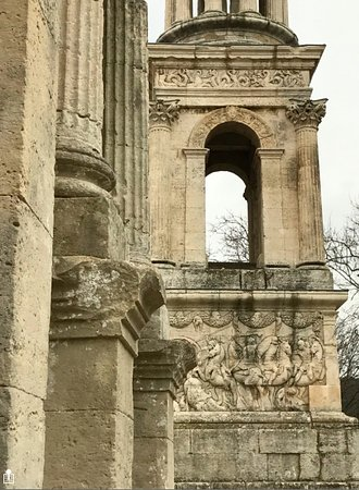 Saint-Remy-de-Provence, France: Different, and incredibly intact.
