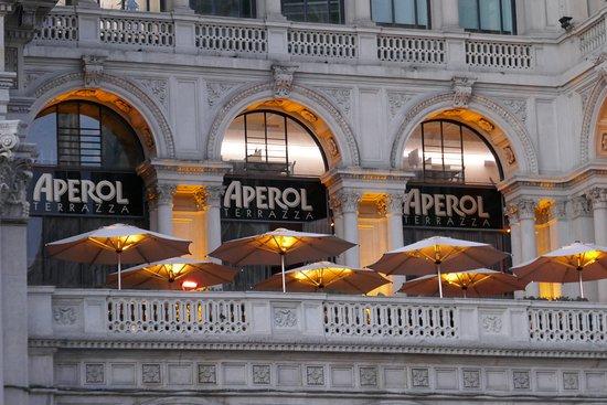 Aperol Spitz Bar Picture Of Terrazza Aperol Milan