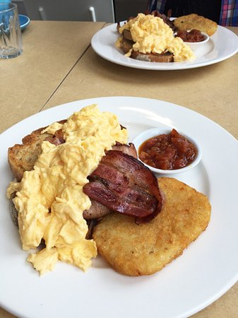 Hyams Beach, Avustralya: Breakfasts